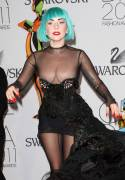 lady gaga nipples make special appearance at fashion event 6931 5