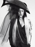 lady gaga topless with shirt off for vogue italy 4055 1