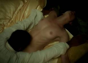 lara pulver nude on her back in da vinci demons 7110 3