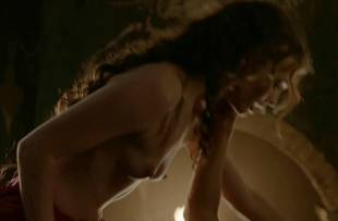 laura haddock topless in bed from da vinci demons 1865 12