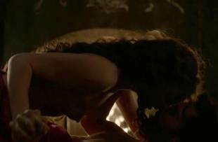 laura haddock topless in bed from da vinci demons 1865 13