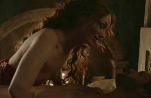 laura haddock topless in bed from da vinci demons 1865 15