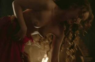 laura haddock topless in bed from da vinci demons 1865 16