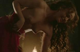 laura haddock topless in bed from da vinci demons 1865 17
