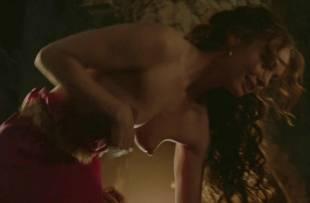 laura haddock topless in bed from da vinci demons 1865 18