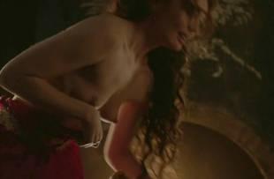 laura haddock topless in bed from da vinci demons 1865 19