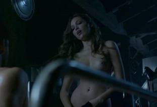 lili simmons nude to ride in bed on banshee 5907 5