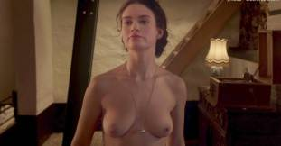 lily james nude in the exception sex scene 7127 11