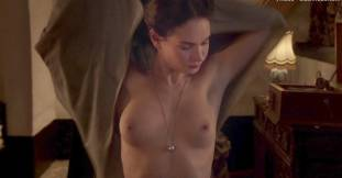 lily james nude in the exception sex scene 7127 7