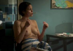 lina esco topless in a towel in kingdom 8889 21
