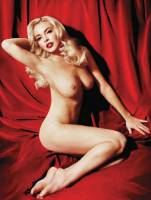 lindsay lohan nude as marilyn monroe 2352 2