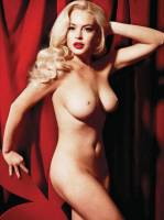 lindsay lohan nude as marilyn monroe 2352 3