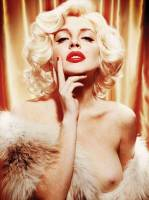 lindsay lohan nude as marilyn monroe 2352 5