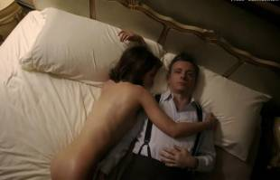 lizzy caplan nude in bed on masters of sex 8422 1
