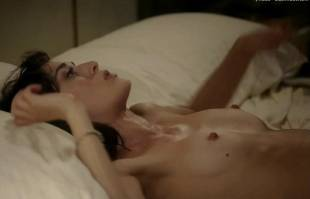 lizzy caplan nude in bed on masters of sex 8422 23
