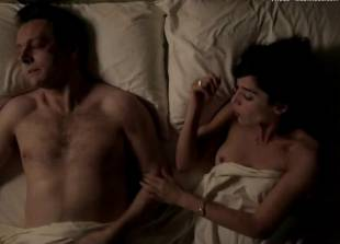 lizzy caplan topless for pillow talk on masters of sex 5890 10