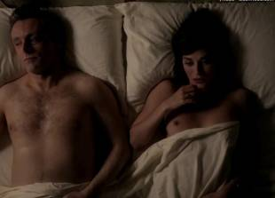 lizzy caplan topless for pillow talk on masters of sex 5890 3
