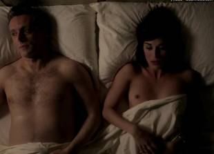 lizzy caplan topless for pillow talk on masters of sex 5890 4