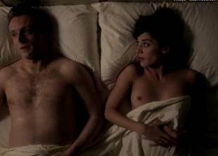 lizzy caplan topless for pillow talk on masters of sex 5890 5
