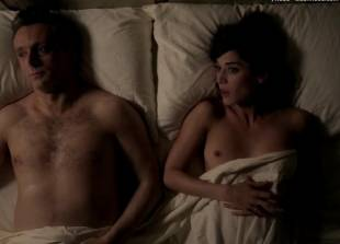 lizzy caplan topless for pillow talk on masters of sex 5890 6