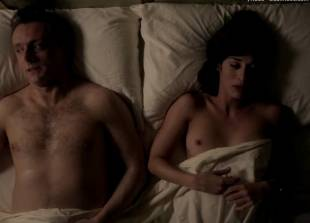lizzy caplan topless for pillow talk on masters of sex 5890 9