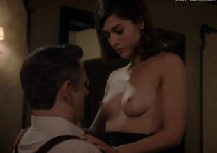 lizzy caplan topless to make you beg on masters of sex 0985 11