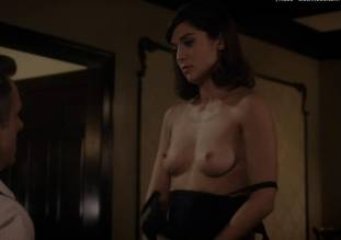 lizzy caplan topless to make you beg on masters of sex 0985 3