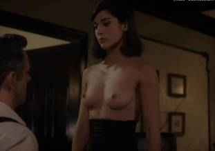 lizzy caplan topless to make you beg on masters of sex 0985 6