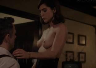 lizzy caplan topless to make you beg on masters of sex 0985 8