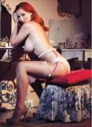 lucy collett topless because no lingerie can hold those boobs 5267 7