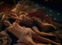 lucy lawless and jaime murray topless together on spartacus 7154 1