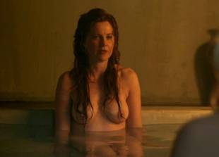 lucy lawless and viva bianca topless in the bath on spartacus 9639 13