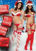 lucy pinder rosie jones holly peers friends topless for christmas 4150 15