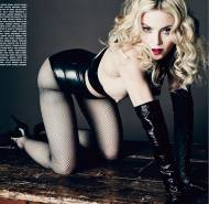 madonna topless on all fours in luomo vogue 0178 7