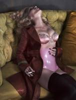 madonna topless to let breasts hang out in interview magazine 8825 1