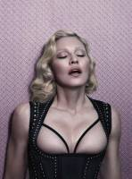 madonna topless to let breasts hang out in interview magazine 8825 4