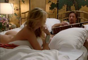 maggie grace ass bared in pillow talk on californication 9780 10