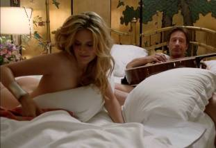 maggie grace ass bared in pillow talk on californication 9780 13