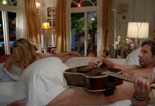 maggie grace ass bared in pillow talk on californication 9780 4