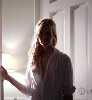 maggie grace breasts peek out on californication 5886 3