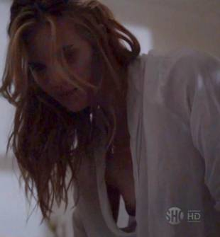 maggie grace breasts peek out on californication 5886 8