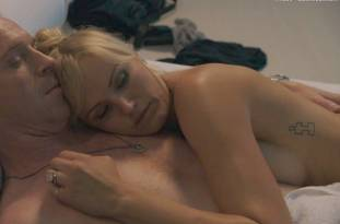 malin akerman topless flash in bed in billions 3999 4