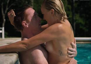 malin akerman topless pool sex scene in billions 8491 17