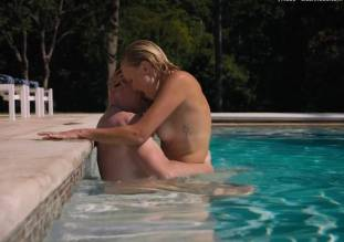 malin akerman topless pool sex scene in billions 8491 4
