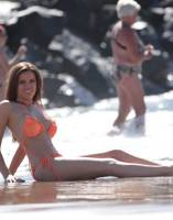 maria fowler topless at beach for english sun 5362 5