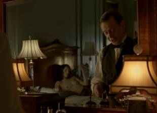 meg chambers steedle topless in bed on boardwalk empire 3372 1