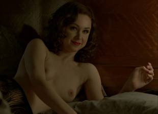 meg chambers steedle topless in bed on boardwalk empire 3372 10