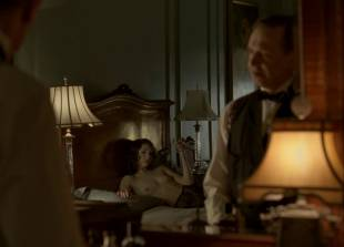 meg chambers steedle topless in bed on boardwalk empire 3372 4