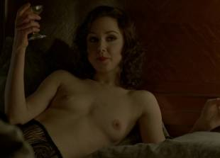 meg chambers steedle topless in bed on boardwalk empire 3372 5