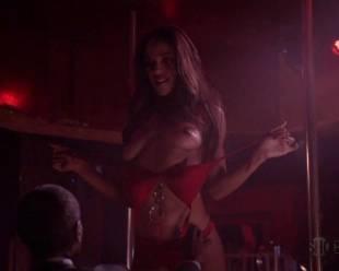 megalyn echikunwoke topless as stripper on house of lies 5537 10